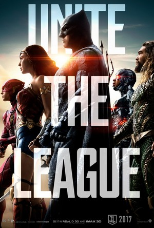 Justice League (2017) Poster - Unite the League