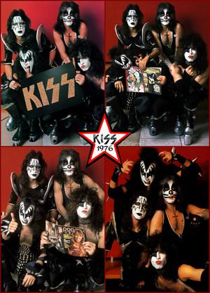 키스 ~Amsterdam, Netherlands...May 23, 1976