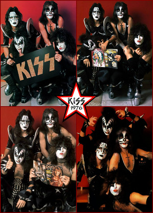 KISS ~Amsterdam, Netherlands...May 23, 1976