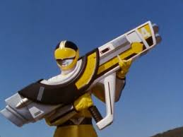 Katie Morphed As The Yellow Time Force Ranger