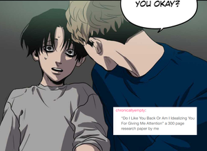 Killing Stalking text posts (1/?)
