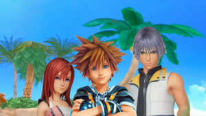 Kingdom Hearts III Destiny Islands Trios Sora  Kairi and Riku