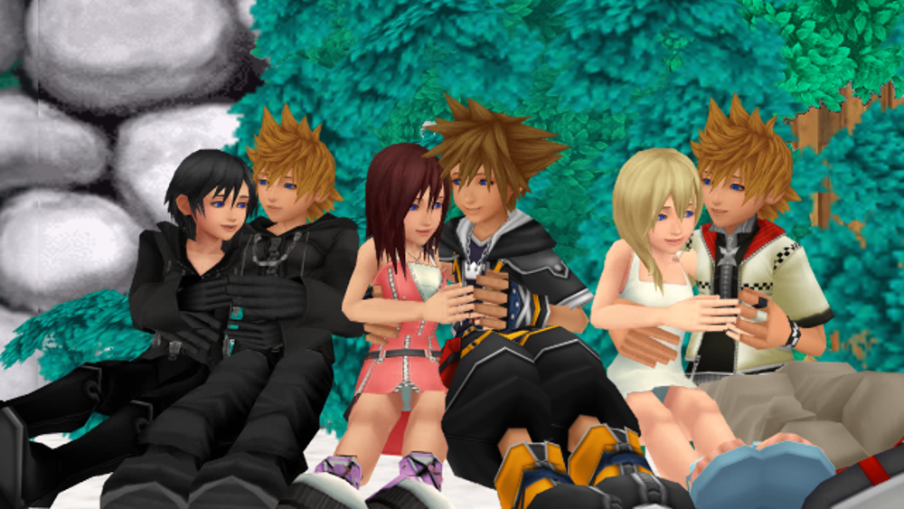 Sorry, that Kingdom hearts kairi and riku naked