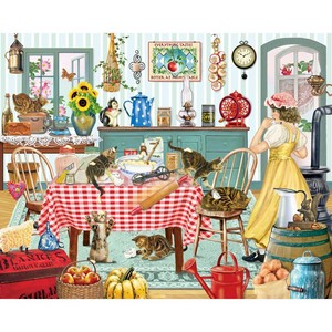 Kittens in the باورچی خانے, باورچی خانہ - Rosiland Solomon