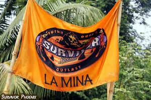La Mina (Older Men) Tribe Flag (Panama)