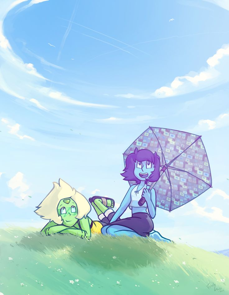 Group Of Lapis And Peridot Steven Universe Wallpapers