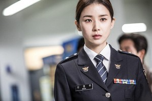 Lee Bo Young takes on the police force in new still cut for upcoming drama 'Whisper'
