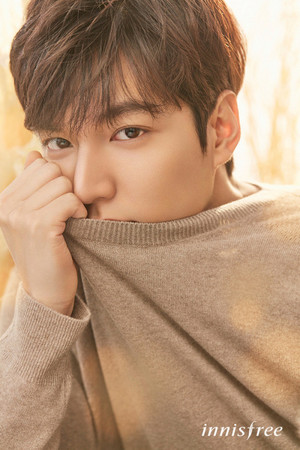 Lee Min Ho   Innisfree  2017