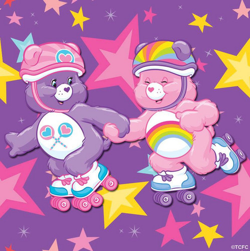 Care Bears wallpaper titled Let's go roller skating!