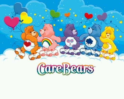 Care Bears wallpaper called Let's go roller skating!