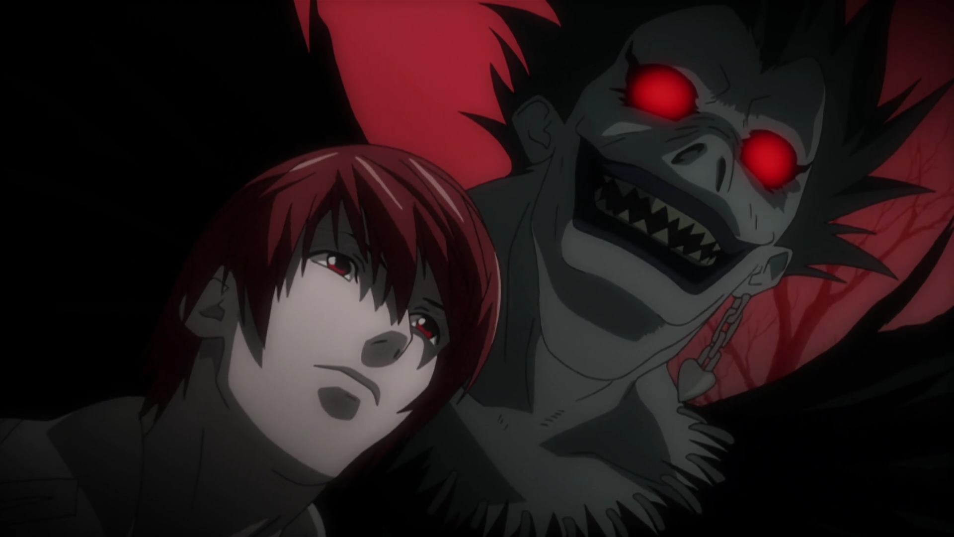 Light Yagami And Ryuk Death Note Wallpaper 40386699 Fanpop