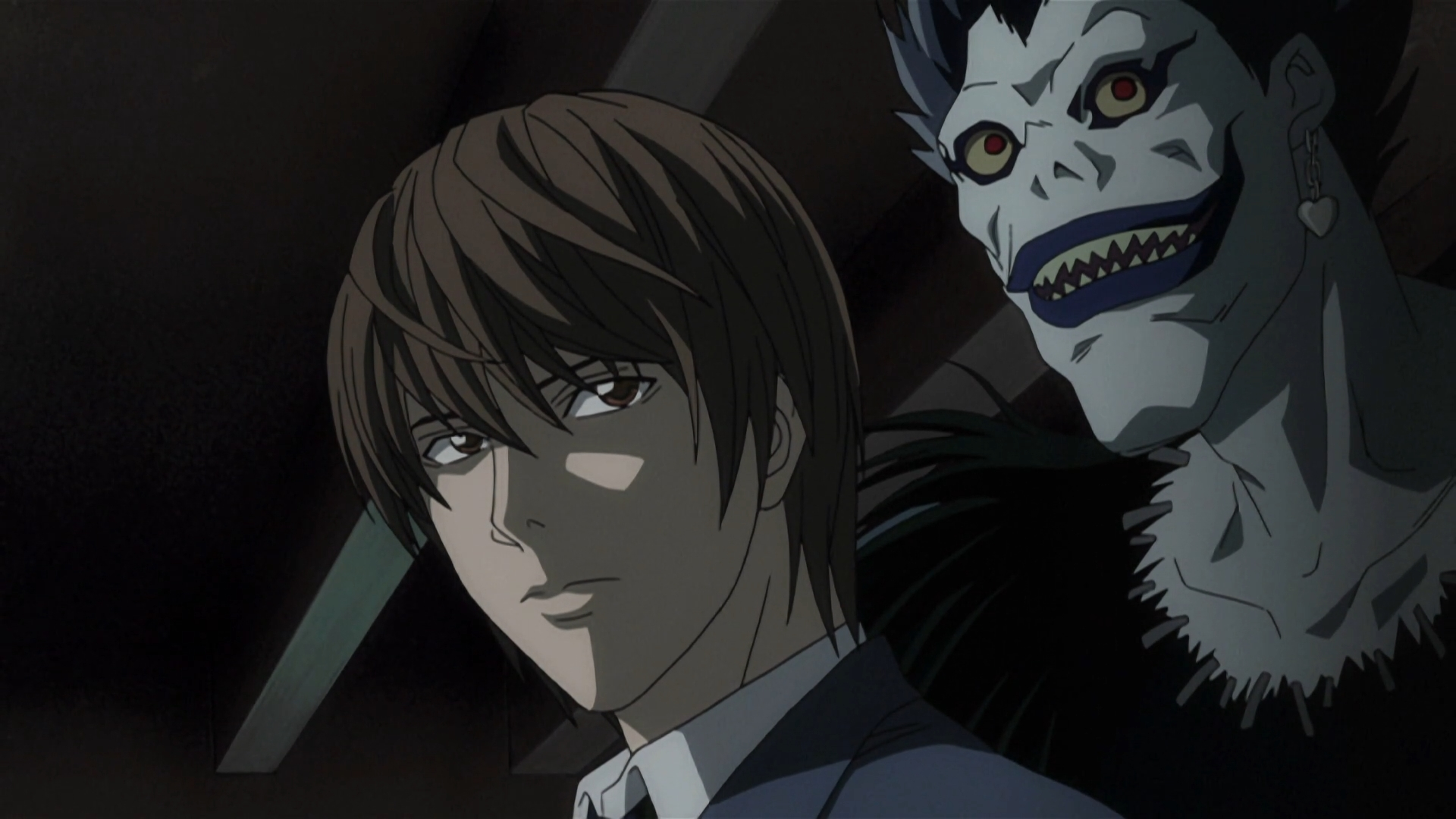 Death Note Fond Decran Called Light Yagami Ryuk