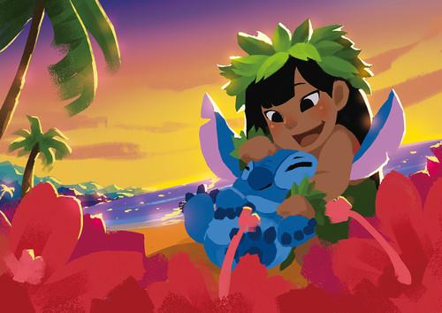 Lilo & Stitch Hintergrund called Lilo and Stitch