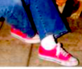 Linda's Pink Sneaks - the-linda-blair-pretty-corner photo