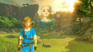 Link thinking about Zelda BotW 2017