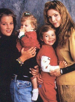 Lisa Marie With Her Family