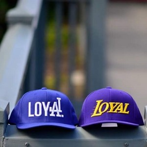 Los Angeles Dodgers - Baseball कैप्स - Loyal: Dodgers, Lakers