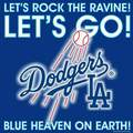 Los Angeles Dodgers - Let's Rock The Ravine! Let's Go! Blue Heaven On Earth! - los-angeles-dodgers fan art