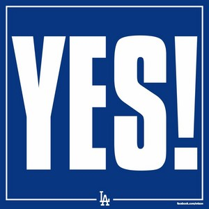 Los Angeles Dodgers - YES!