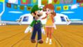 Luigi and Daisy Soochi MMD Cruiser