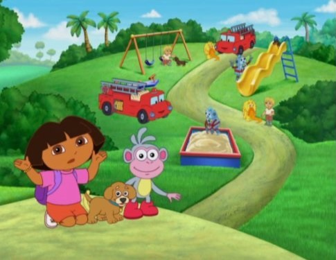 Dora the Explorer wallpaper called MV5BMTQxNjAyMjE1Nl5BMl5BanBnXkFtZTgwODg4MDQ2MjE . V1 SX1857 SY888