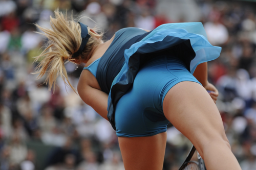 Maria Sharapova wolpeyper called Maria Sharapova - asno and Legs