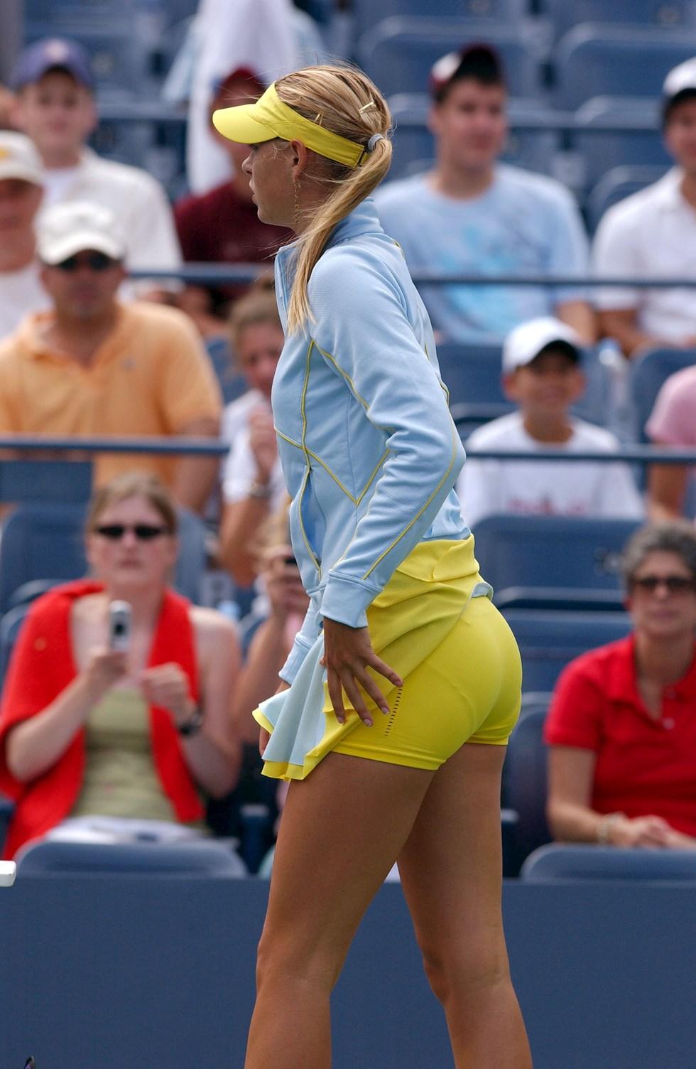 Maria Sharapova - پچھواڑے, گدا and Legs