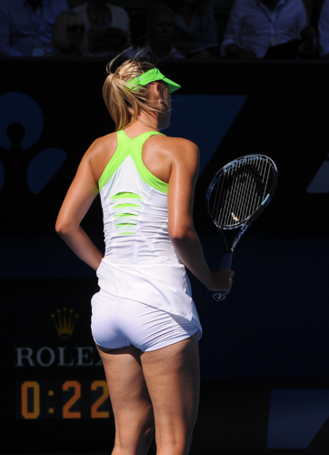 Maria sharapova sexy butt during game