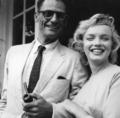 Marilyn And Third Husband, Arthur Miller  - marilyn-monroe photo