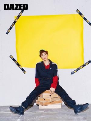 Mark for Dazed Korea Magazine 2017 May Issue