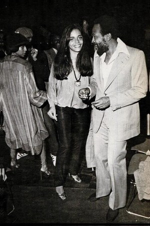 Marvin And saat Wife, Janis Hunter
