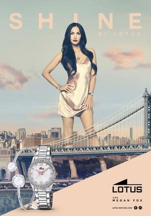 Megan Fox ~ Lotus Watches