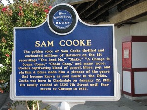 Memorial Plaque Dedicated To Sam Cooke