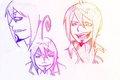 Mephisto sketches  - mephisto-x-aquamarine6663 fan art