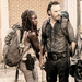 Michonne and Rick