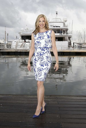 Mira Sorvino Intruders Photocall