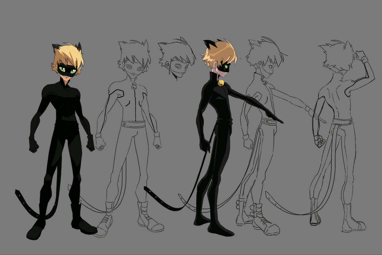 Adrien Agreste Concept Art