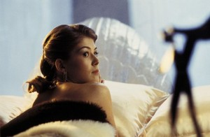 Miranda Frost (Die Another Day ice palace bed scene)