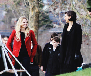 Morrison with Parrilla BTS