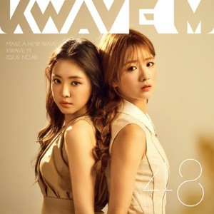 Naeun and Bomi for KWAVE M Magazine Vol. 48