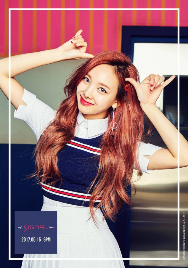 Nayeon's teaser image for 'Signal'