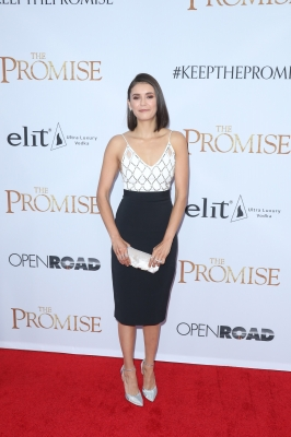 "Nina Dobrev at ""The Promise"" premiere in LA"