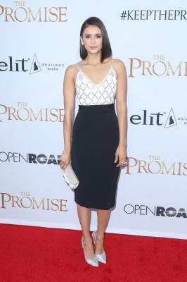 """Nina Dobrev at """"The Promise"""" premiere in LA"""