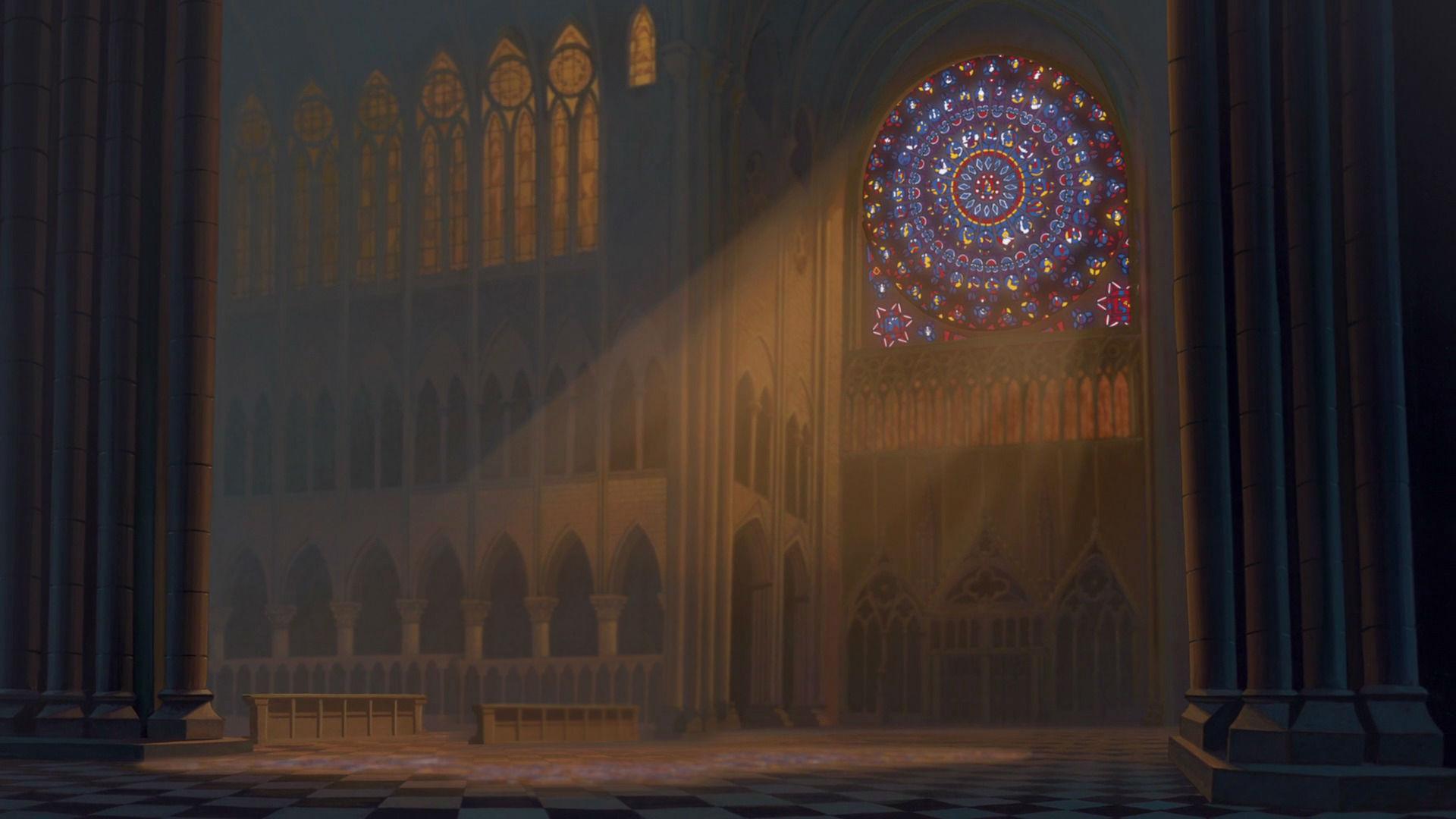 Notre Dame Background