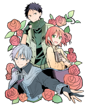 Obi, Zen and Shirayuki
