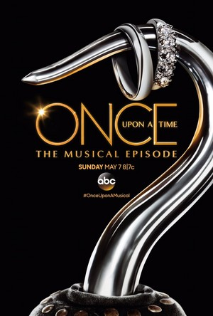 Once Upon a Time keyart for the musical episode