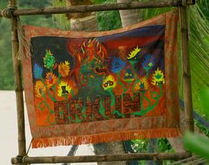 Orkun (Merged) Tribe Flag (Cambodia)