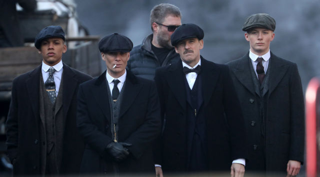 Peaky Blinders Oboi P B Series Filming In Liverpool Oboi And