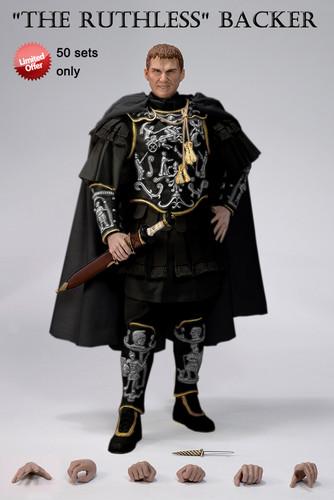 Commodus Hintergrund called Pangaea Toy 1:6 Roman Emperor Commodus Kickstarter Project