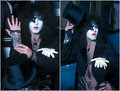 Paul (NYC) January 13, 1976 - kiss photo